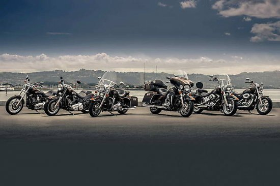 Юбилейная серия от Harley-Davidson 2013