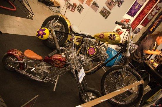 MP2013 Moottoripyöränäyttely