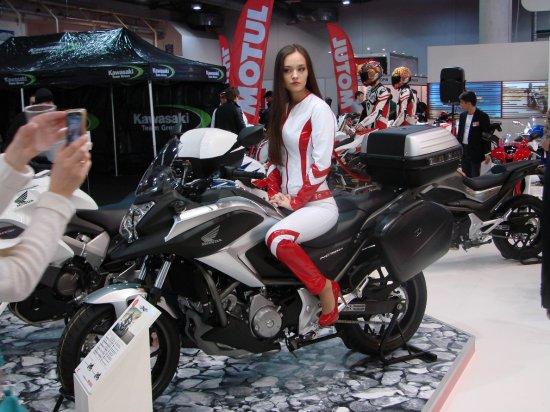 "Honda представила пять новинок на ""МотоБайк 2013"""