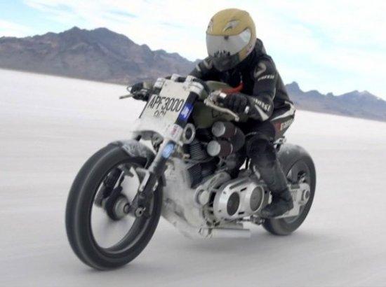 Мотоцикл-рекордсмен X132 Hellcat Combat выпустят ограниченным тиражом