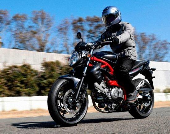 Suzuki обновила двухцилиндровый нейкед Gladius