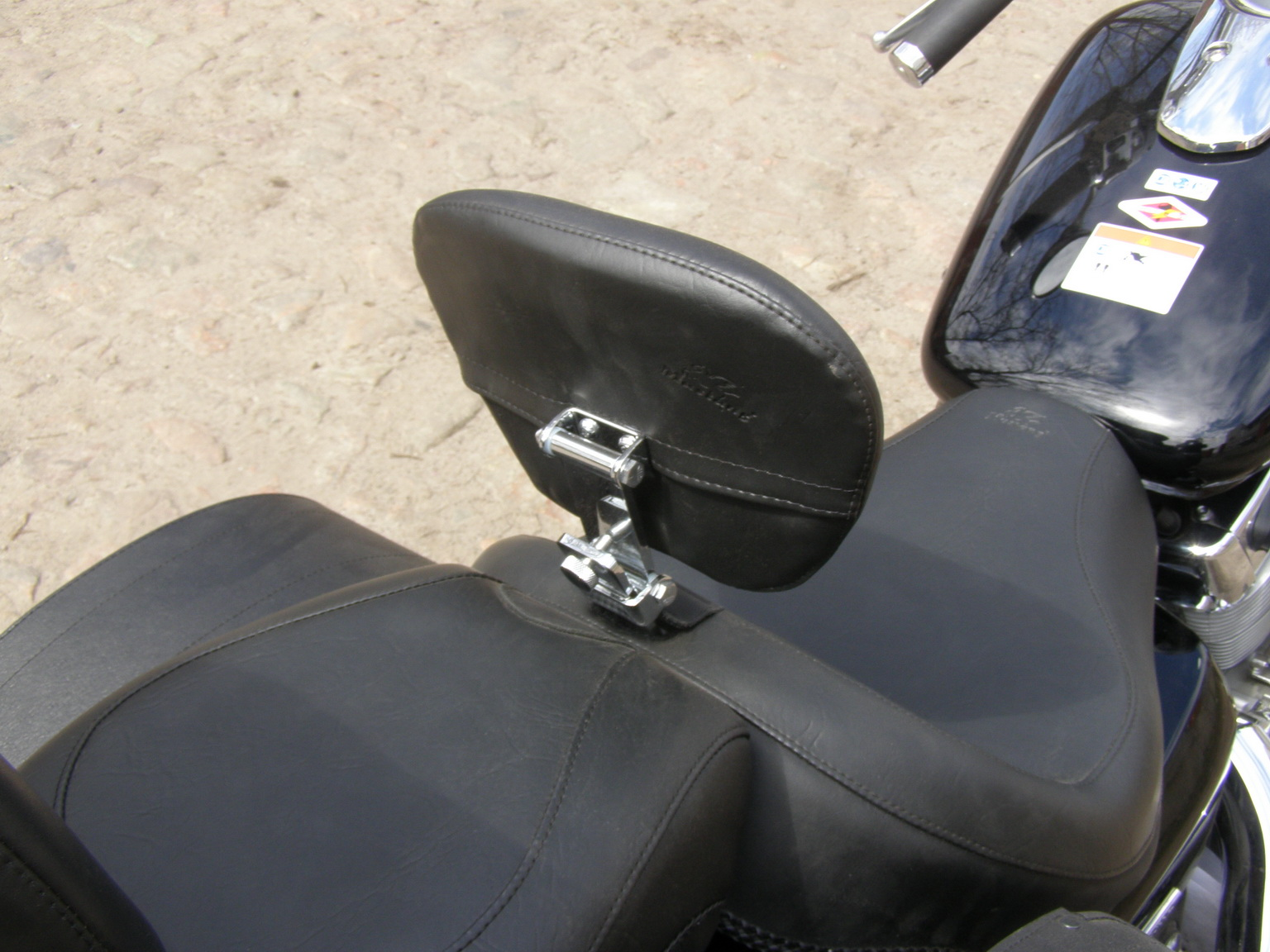 Спинки для мотоцикла своими руками
