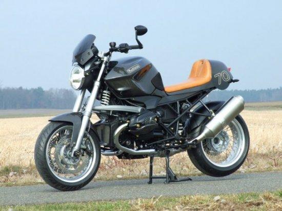 """Немецкая компания Metisse """"перекроила"""" мотоцикл BMW"""